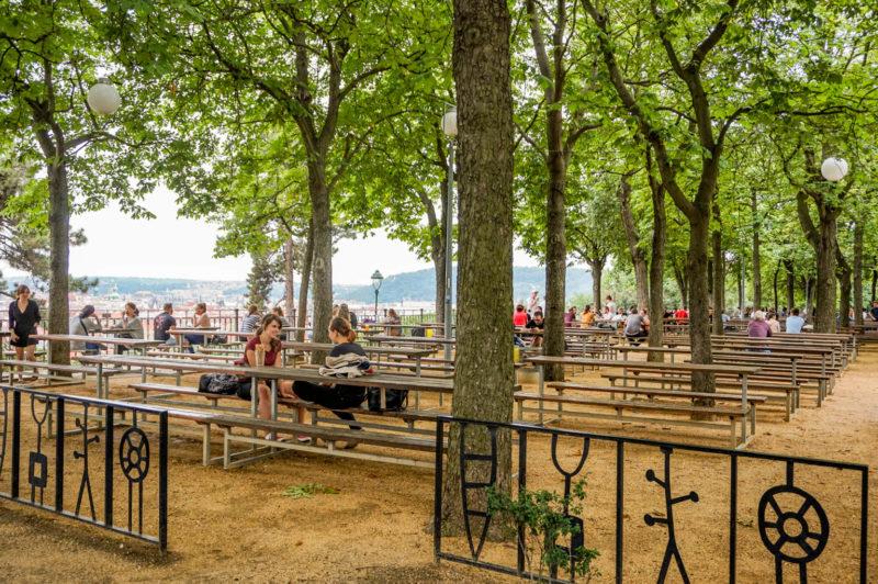 Letna beer garden