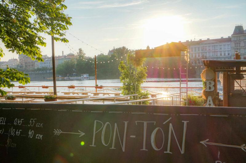 Pon-Ton, Střelecký ostrov