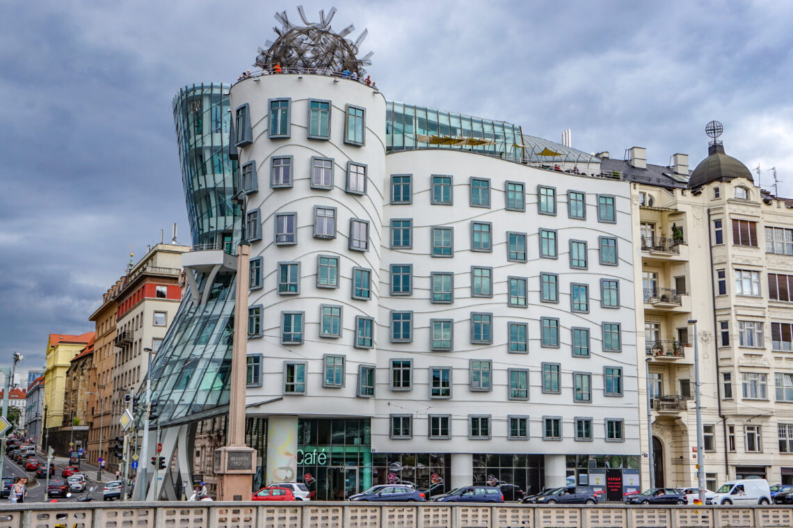 Dancing House Exceptional Modern Architecture Czech By Jane